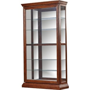 Solari Lighted Curio Cabinet