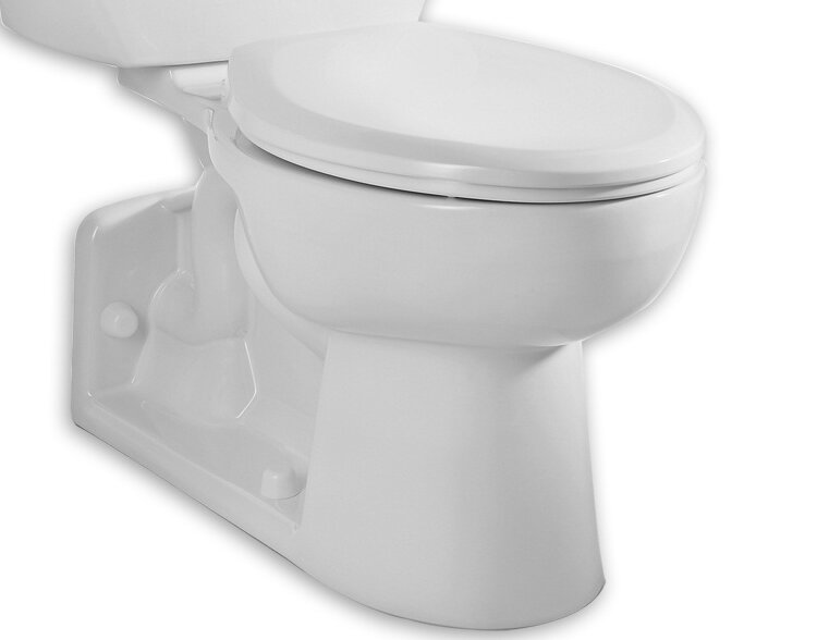 American Standard Yorkville Dual Flush Elongated Toilet Bowl | Wayfair