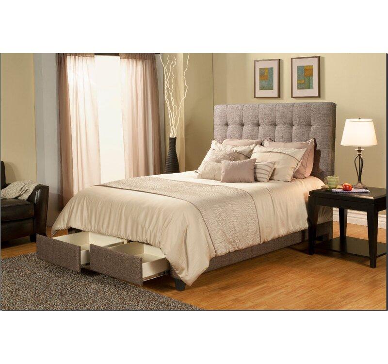 Seahawk Designs Manhattan Upholstered Platform Bed & Reviews | Wayfair
