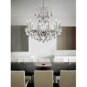 Sonatina 12-Light Candle-Style Chandelier
