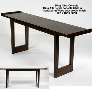 Merveilleux Ming Altar Console Table
