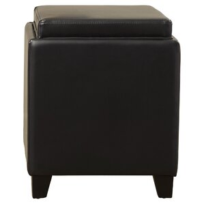 Carroll Storage Ottoman with Tray by B..