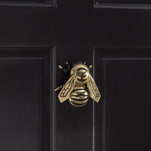 michael healy designs bumblebee door knocker reviews. Black Bedroom Furniture Sets. Home Design Ideas