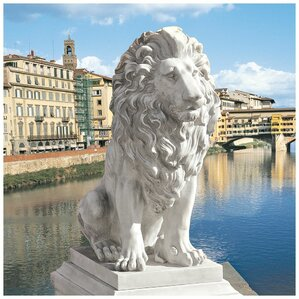 Lion of Florence Sentinel Statue