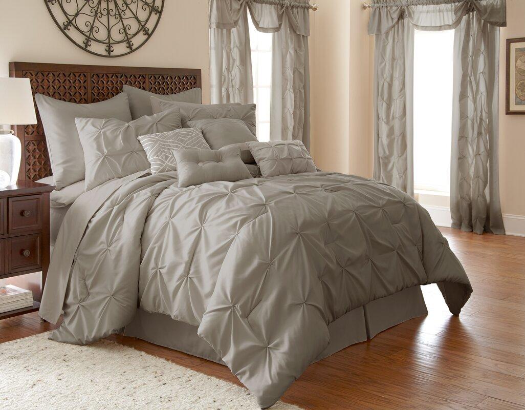 House of hampton maclaine 24 piece comforter set reviews for House of hampton bedding