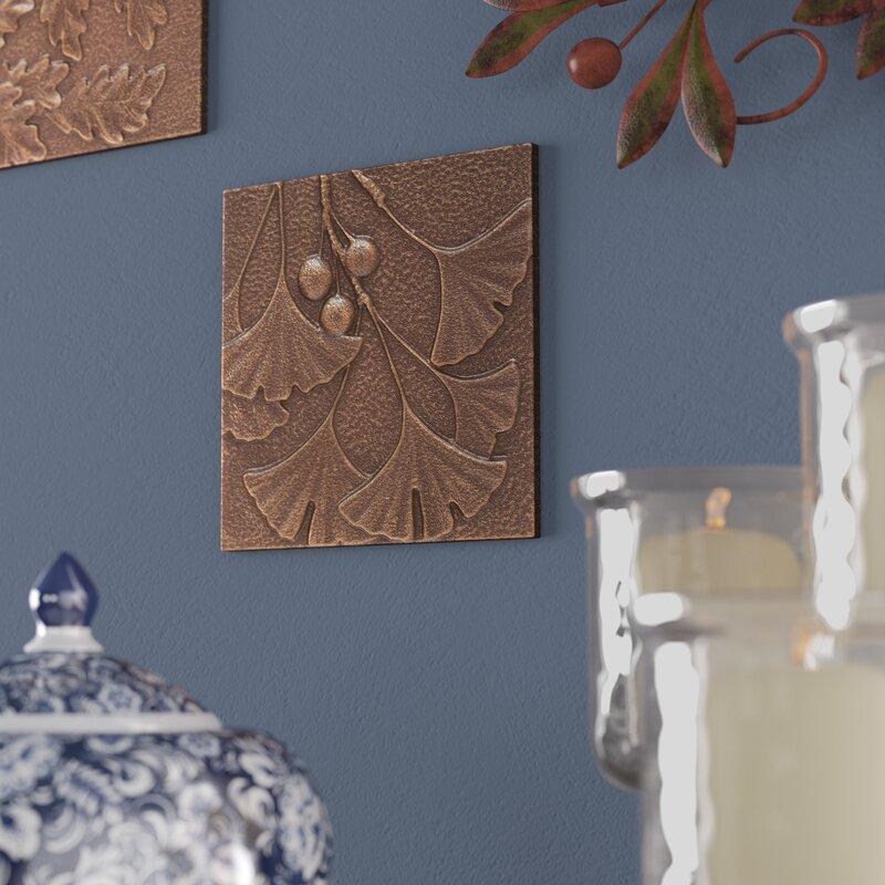 Andover Mills Legendre Ginkgo Leaf Metal Wall Décor & Reviews   Wayfair