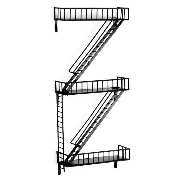 Design Ideas Fire Escape Shelf Amp Reviews Wayfair