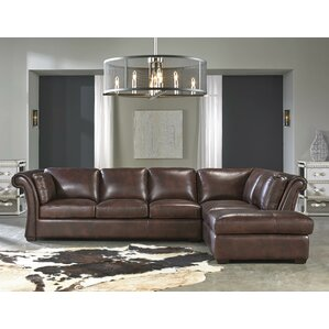 Angelina Leather Sectional..