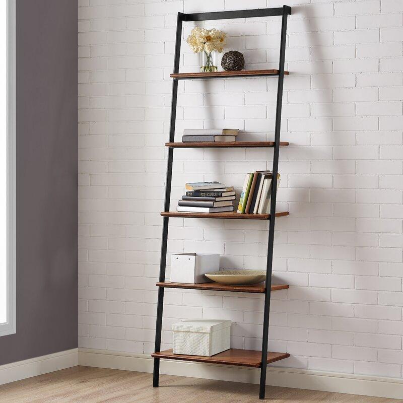 Greenington Studio Ladder Bookcase Amp Reviews Wayfair