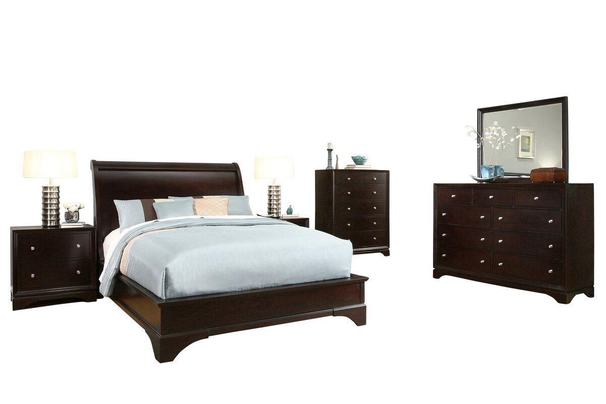 Juliana Panel 6 Piece Bedroom Set Amp Reviews Joss Amp Main