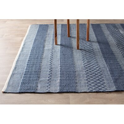 Estate Hand Woven Blue Indoor Outdoor Area Rug Reviews Birch Lane
