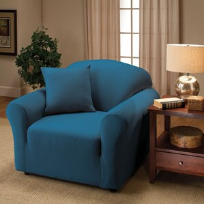 Andover Mills Box Cushion Armchair Slipcover