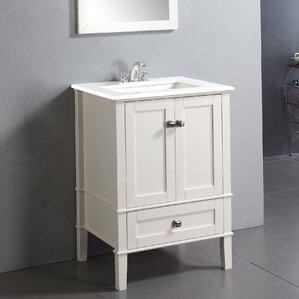 "Chelsea 24"" Single Bathroom Vanity Set with Mirror"