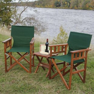 Campaign Folding Camping Chair