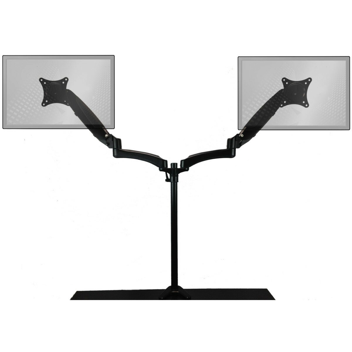 Home Concept SitStand Extended AirAssist Monitor Arm Height
