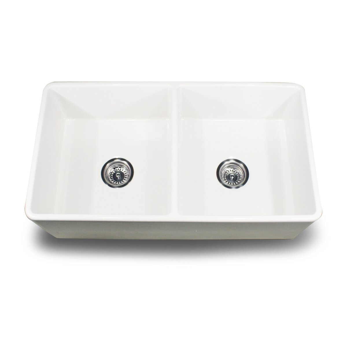 cape 33 x 18 double bowl kitchen sink - Bowl Kitchen Sink