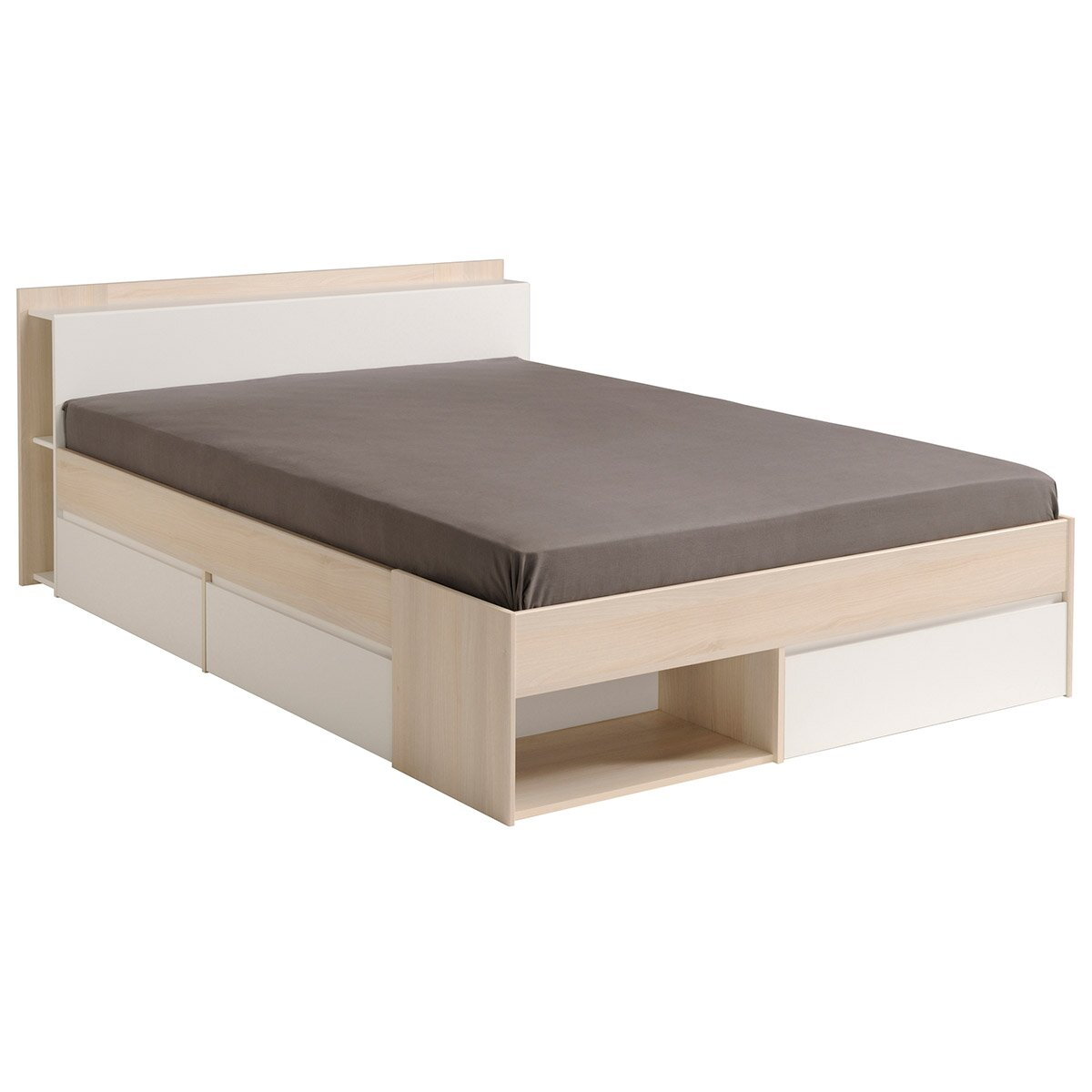Most storage platform bed reviews allmodern - Seagrass platform bed ...