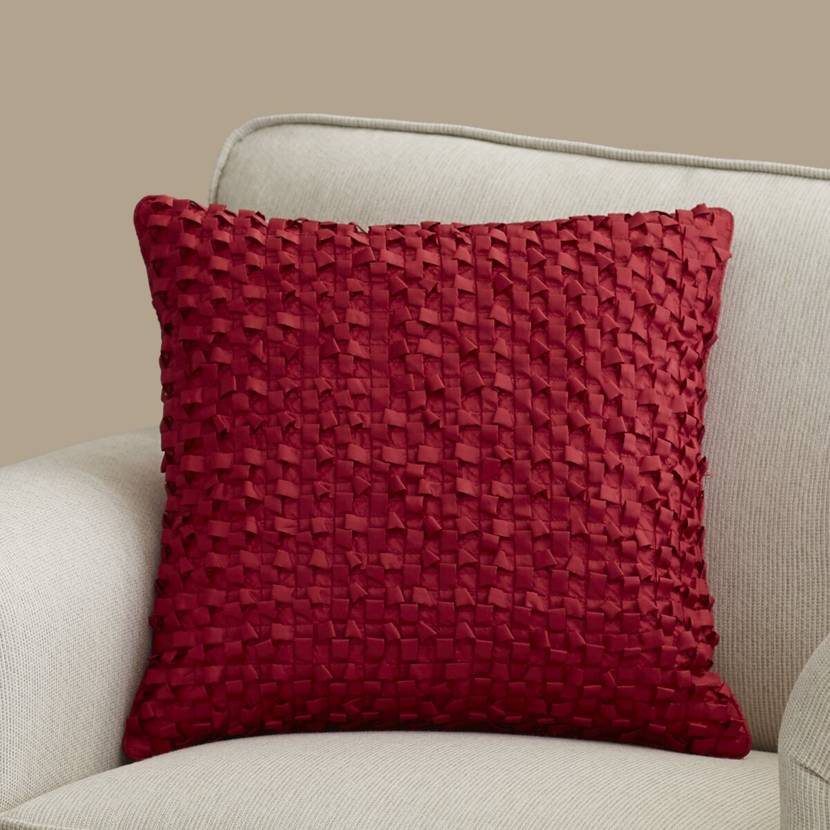 Isabelle Synthetic Throw Pillow & Reviews AllModern
