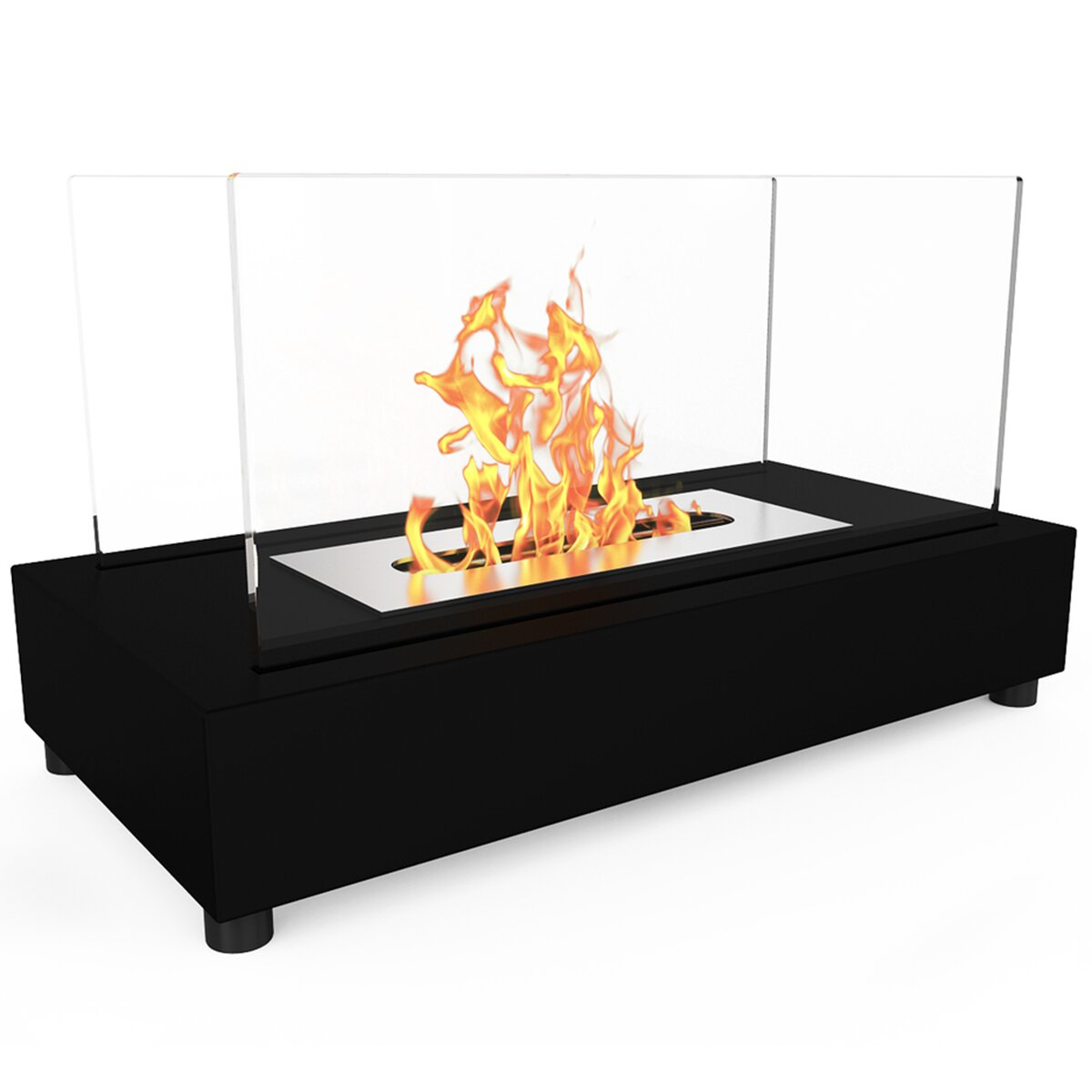 Elite Flame Avon Ventless Bio Ethanol Tabletop Fireplace