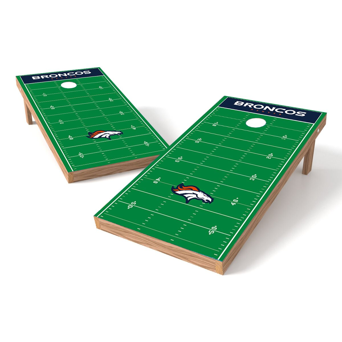 Tailgate Toss Nfl Football Field Cornhole Game Set Wayfair
