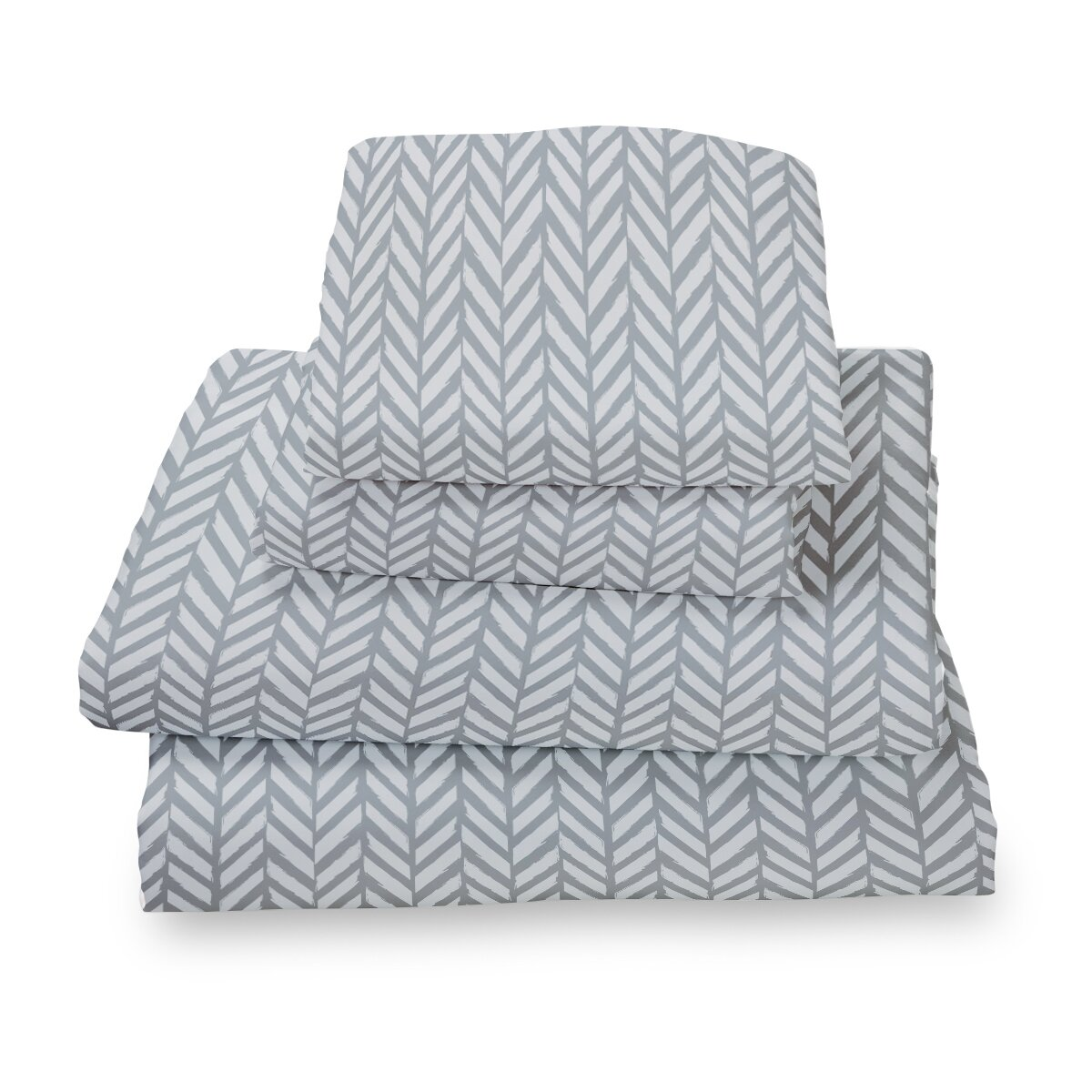 herringbone extra deep pocket sheet set