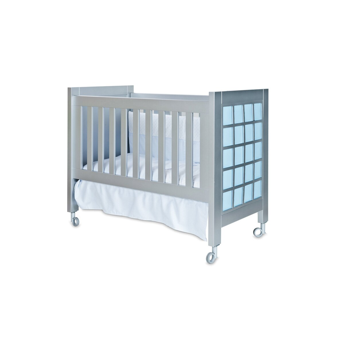 Collection Rosabel Acuario Wooden Portable Crib with Matress : Wayfair