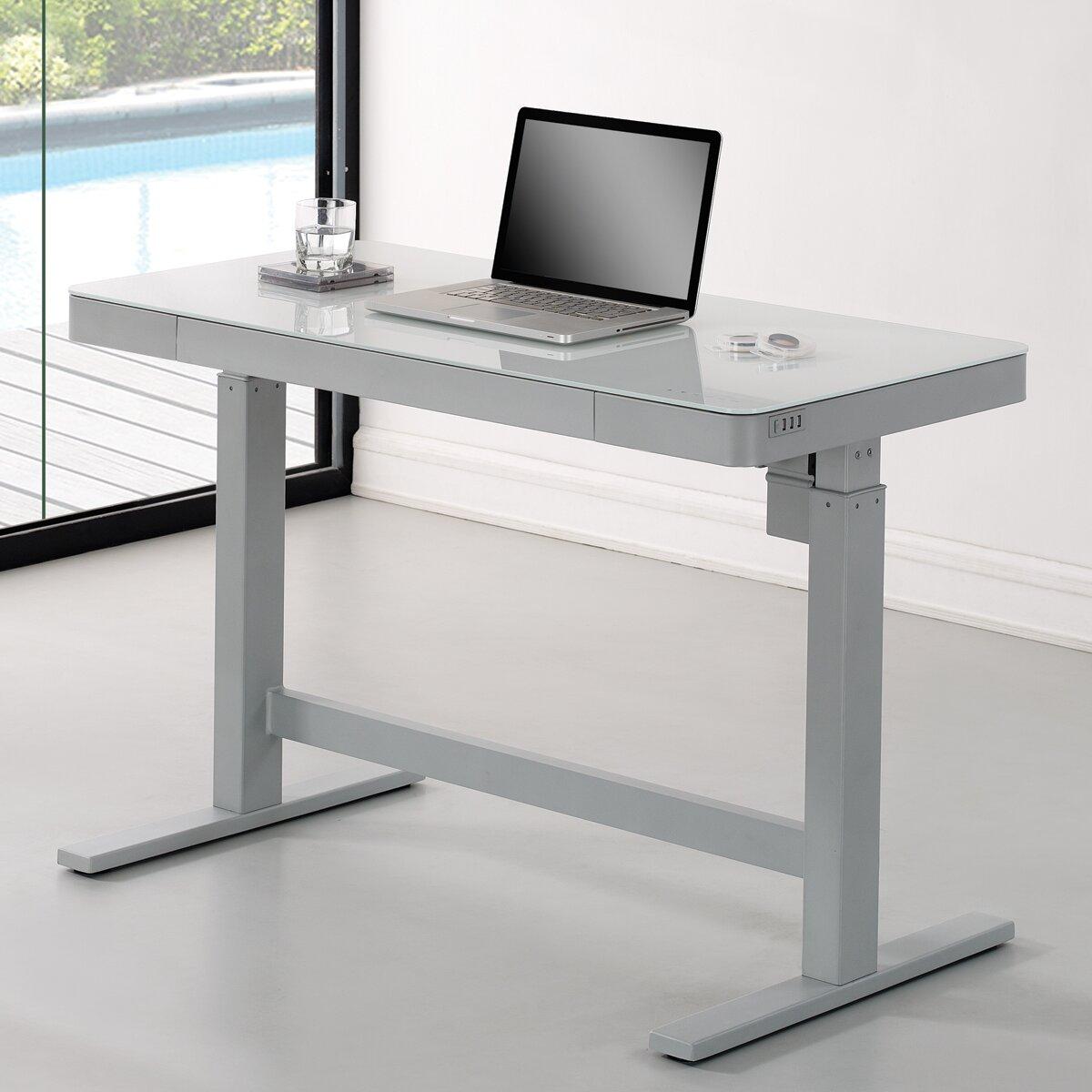 Wildon Home 174 Adjustable Standing Desk Amp Reviews Wayfair