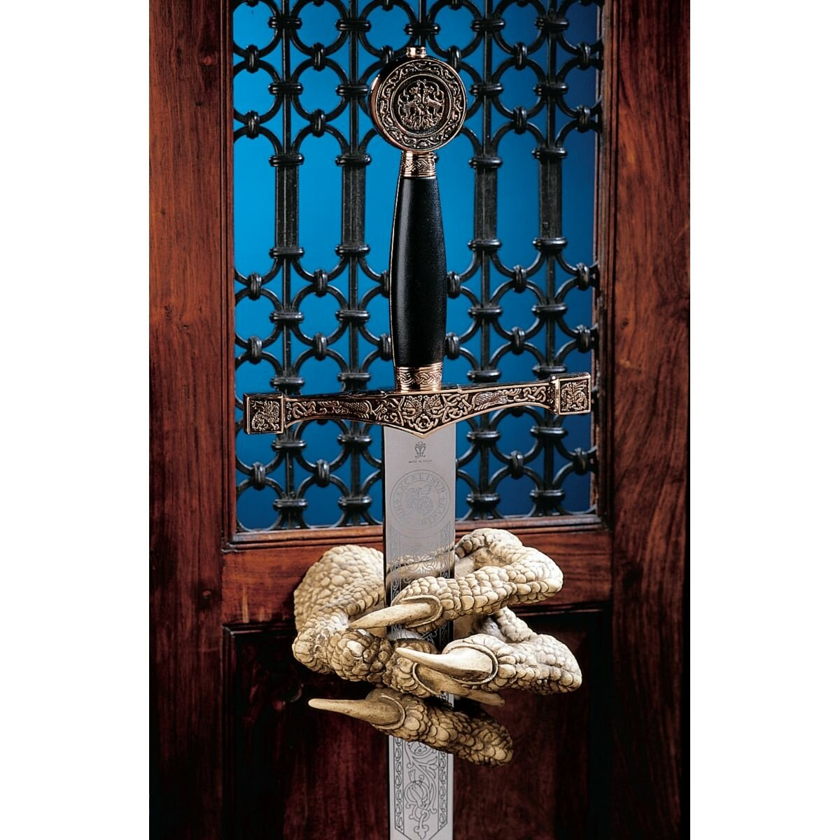 Design Toscano Dragons Thorne Macgarvey Claw Sword Hanger