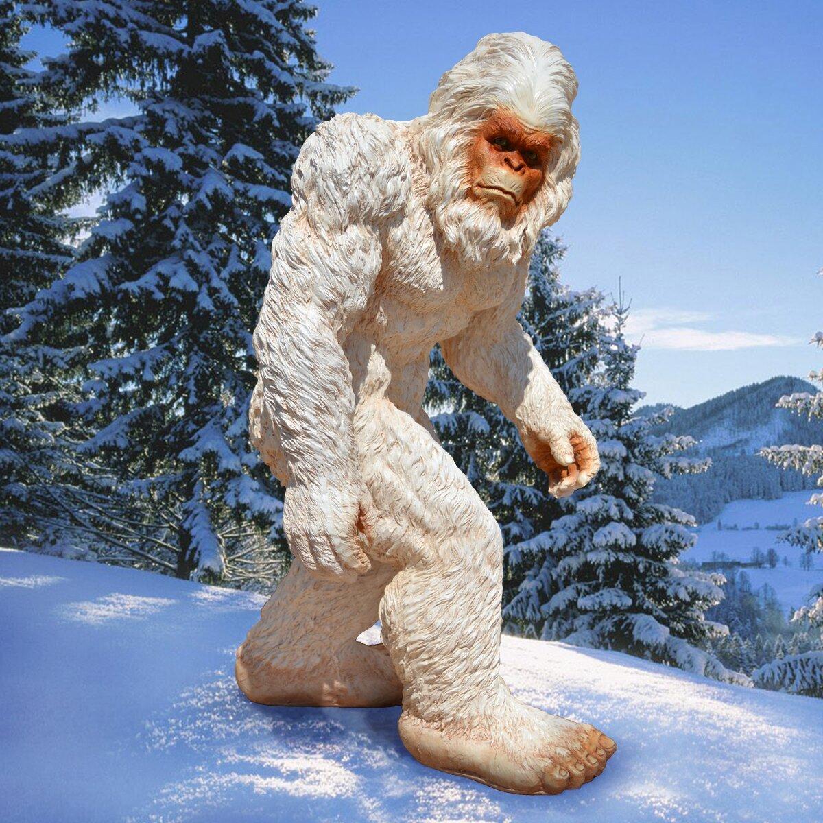 покажи картинки снежного человека