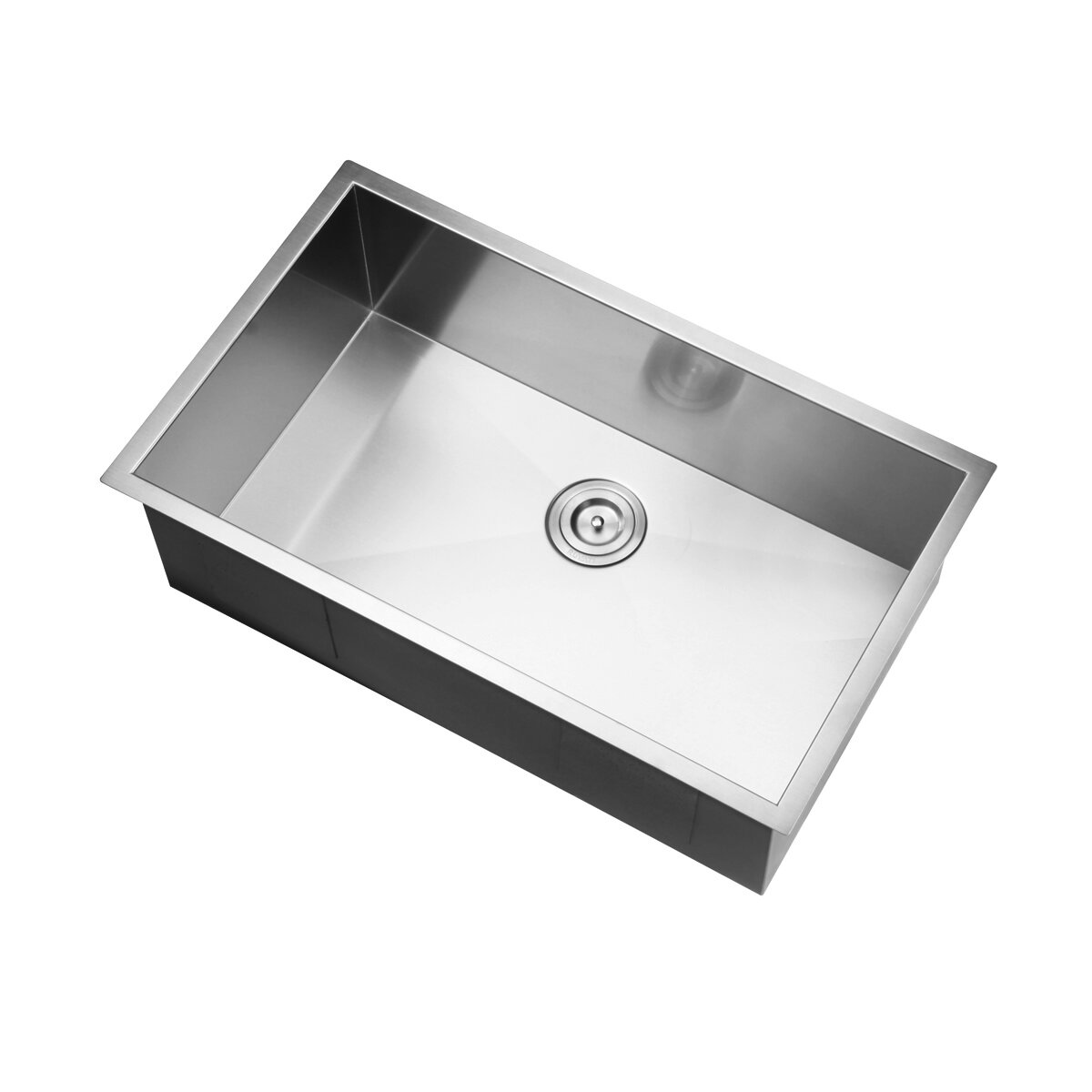 nesta 32 x 19 undermount single bowl kitchen sink - White Single Basin Kitchen Sink