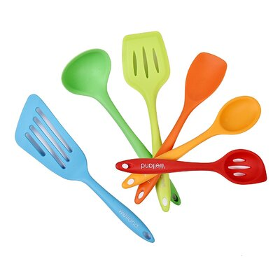 6 Piece Silicone Cooking Utensil Set