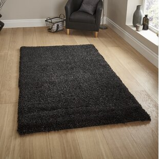 Bianca Black Area Rug by Natur Pur