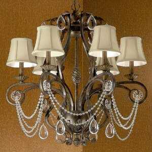 Tuscany 6-Light Candle-Style Chandelier