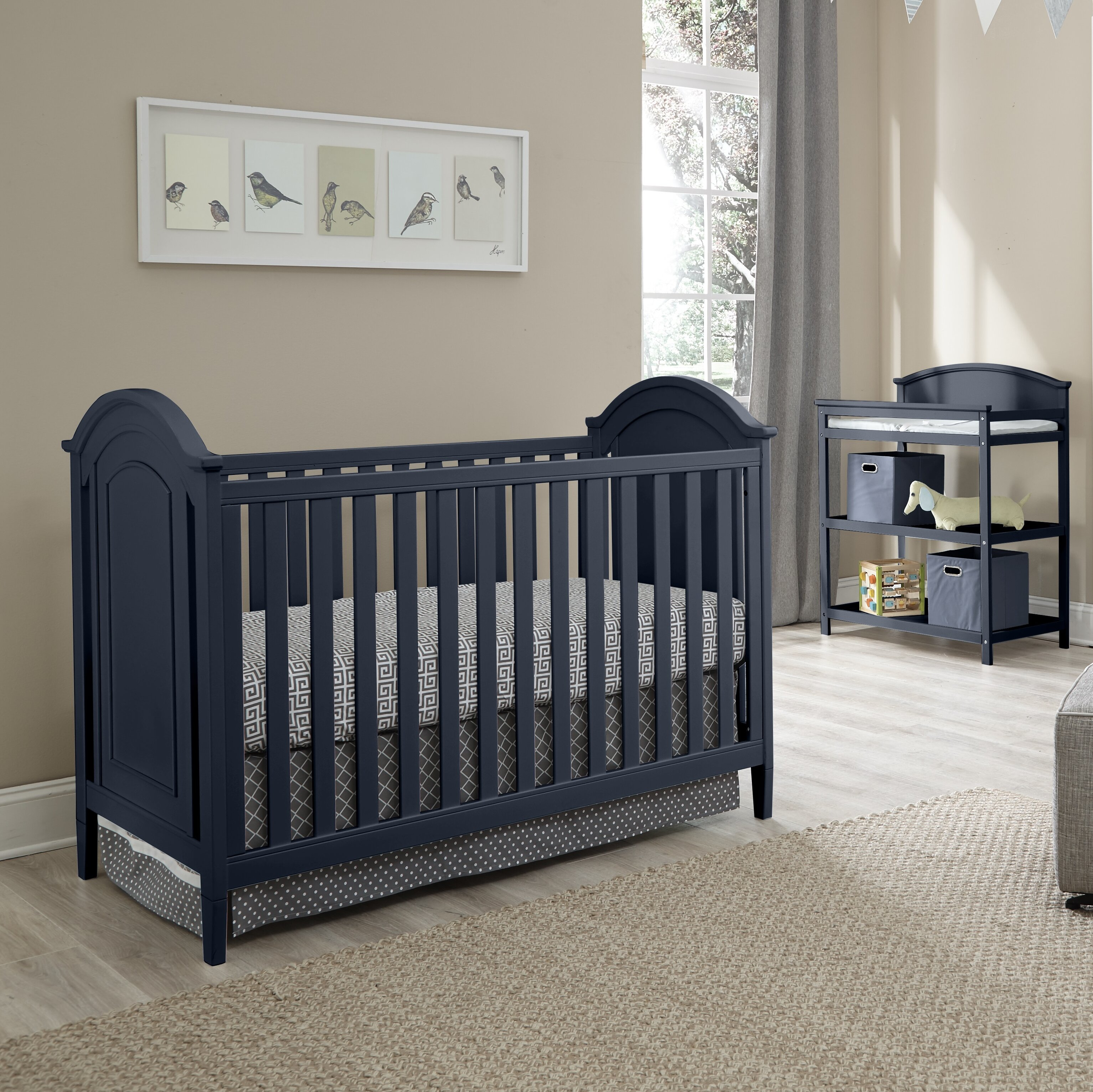 0b6d2c1d0d Harriet Bee Emile 3-in-1 Convertible 3 Piece Crib Set   Reviews ...