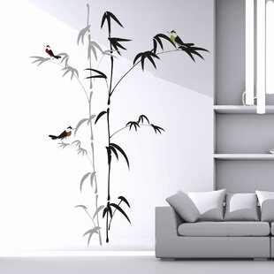 Home Decor Line Bamboo Wall Decal