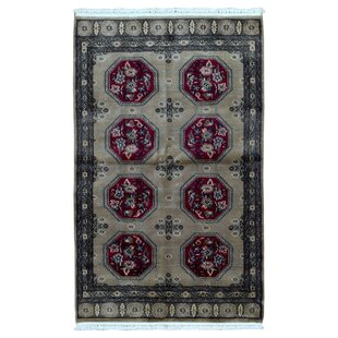 6ff26a6fc8eb One-of-a-Kind Coston Royal Bukhara Hand-Knotted Silk