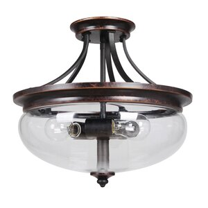 Westerfield 3-Light Semi Flush Mount