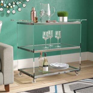 Digennaro Acrylic Bar Cart