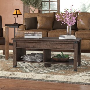 Wood Top Coffee Tables Youll Love Wayfair