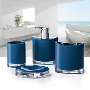 Optic 4 Piece Bathroom Accessory Set
