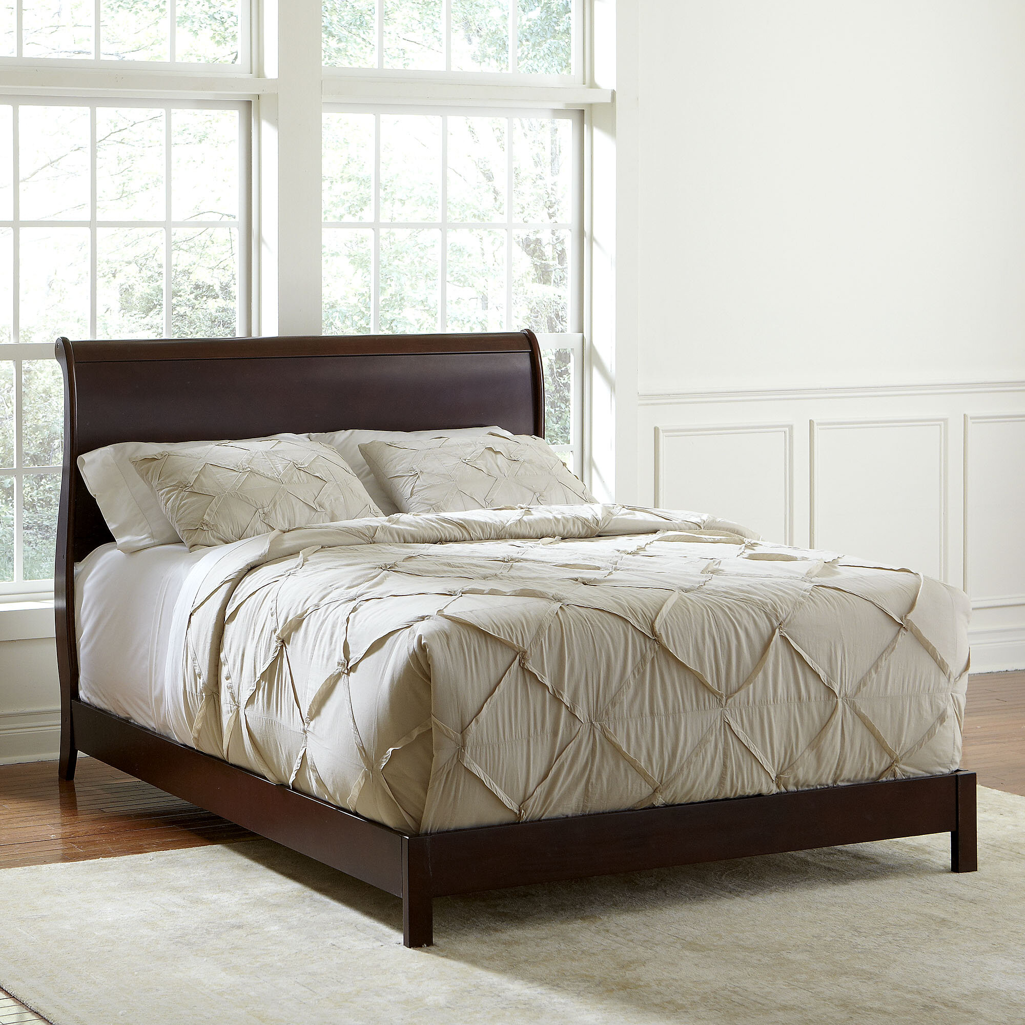 birch lanea lancaster sleigh bed reviews birch lane