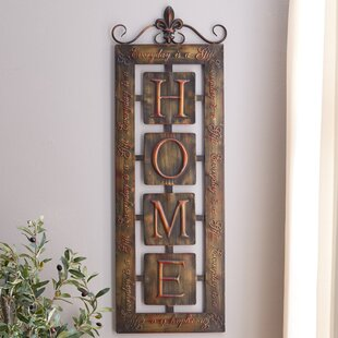 Wood metal wall decor gates home goods