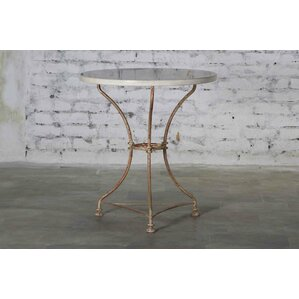 Bismarck Iron Marble Top Dining Table by One Allium Way