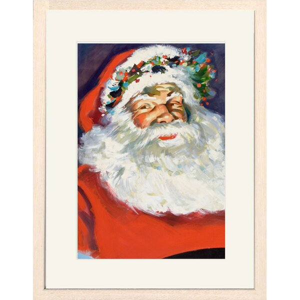 Framed Santa Claus Picture Wayfair