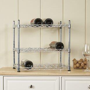 Aryan 12 Bottle Tabletop Wine Rack
