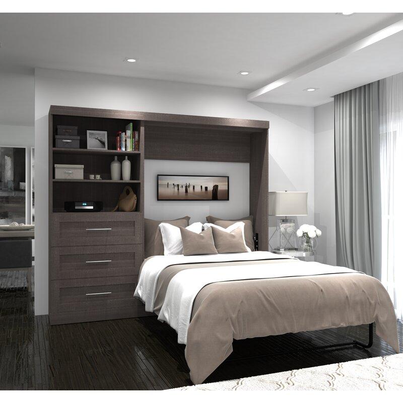 Brayden Studio Walley Murphy Bed Amp Reviews Wayfair