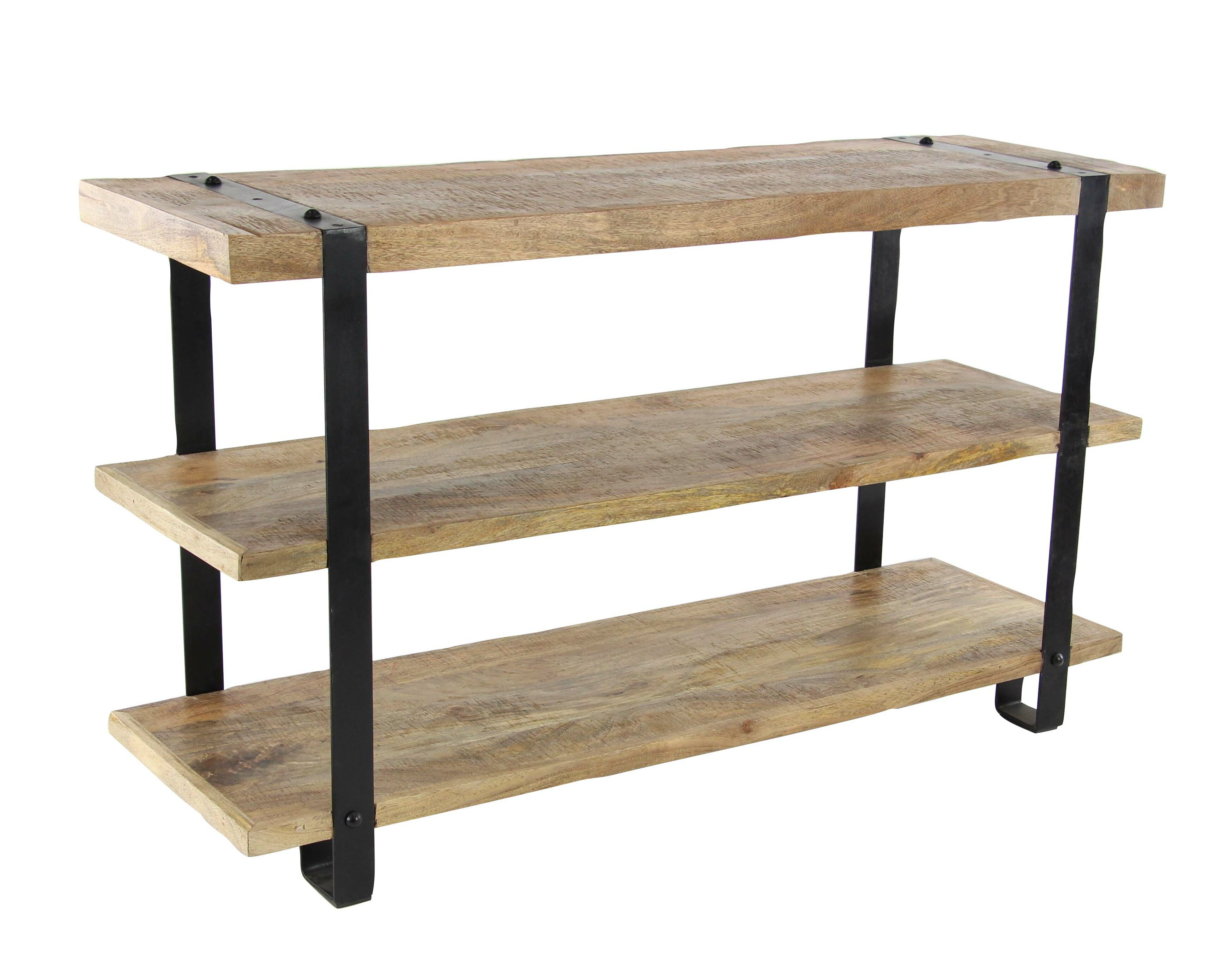 Loon peak bartouille industrial console table wayfair