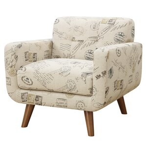Hoeft Print Armchair by Latitude Run