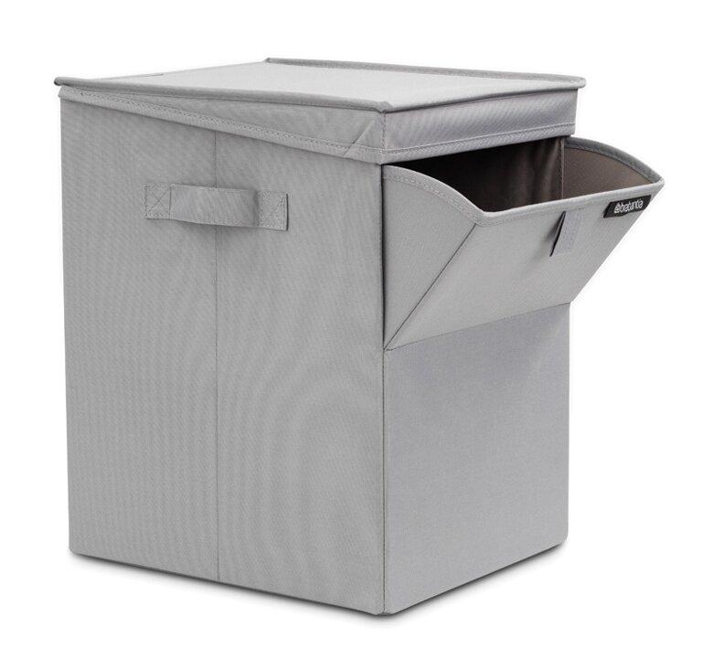 Stackable Laundry Baskets Impressive Brabantia Stackable Laundry Hamper Reviews Wayfair