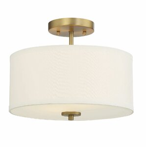Rios 2-Light Semi Flush Mount
